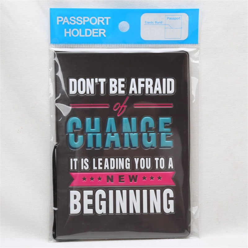New Arrival Cutely Travel ID Card Holder Passport Holder PVC Leather 3D Design Passport Cover 14*9.6cm Passport Holder