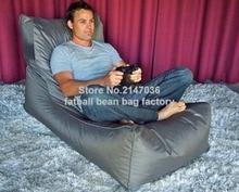 Living room bean bag game chair, outdoor garden hammock sofa beds — Grey cushion beanbags furniture