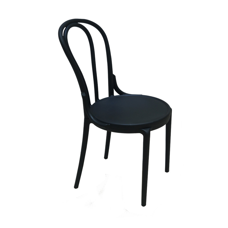 Can be assembled plastic  dining chair.High-grade synthetic resin production. Fashion. Durable. degradable plastic mulch in winter rapeseed production