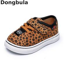 Spring New Kids Shoes Sneakers For Boys Flat Girls Leopard Casual Shoes Children Sports Baby Shoes Fashion Comfortable Leather spring children s shoes 2017 fall new board shoes for boys and girls leisure help leather sports shoes
