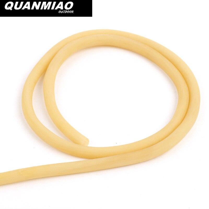 3mm x 5mm Látex Natural Tubo De Borracha Estilingues 2 M Tubos Elásticos Banda Ao Ar Livre Caça Tiro Catapult Borracha Ferramenta de banda Bungee