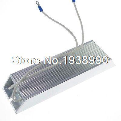 (1) 1000 W 4 ohm Aluminium Installé Résistance de Freinage Fil Enroulé Résistance