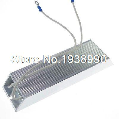(1)1000W 4 ohm Aluminum Housed Braking Resistor Wire Wound Resistor variable resistor wire wound rheostat 50w 20 ohm 20ohm