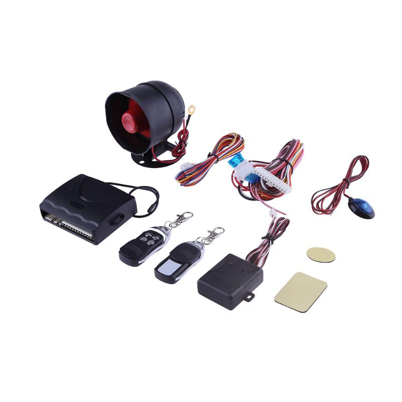 12V Car Alarm System One Way Security Pr