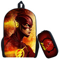 The Flash Backpack Kids School Bags Cute Boy Arrow Bag Child Mochila