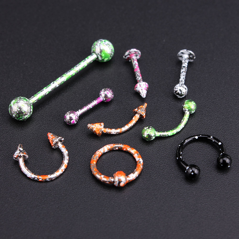 Jewelry amp watches gt fashion jewelry gt body jewelry gt body piercing - Wholesale 100pcs Mixed Color Stainless Steel Lip Body Piercing Rings Nose Screw Nose Ring Ear Stud Tragus Body Jewelry Unisex