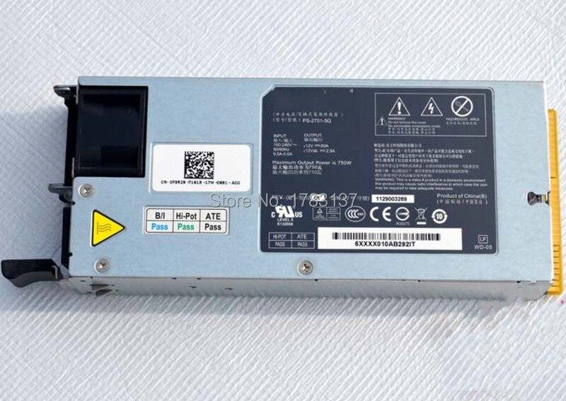 750 Watt Stromversorgung Für C2100 Server 0f3r29 Cn-0f3r29 Ps-2751-5q Wird Test Vor Versand