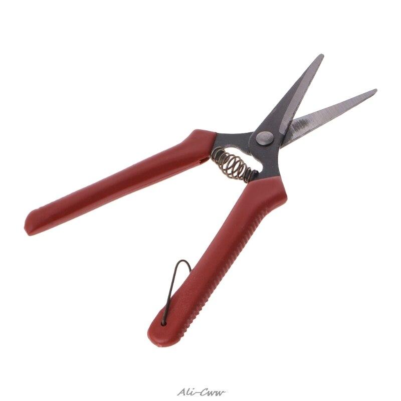 Carbon Steel Head Gardening Scissors Cutting Branch Shears Bypass Pruner