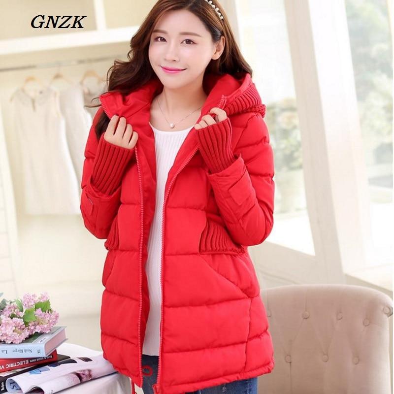 2017 new pregnant women, pregnant women are pure cotton, cotton pregnant women padded winter Hooded Jacket