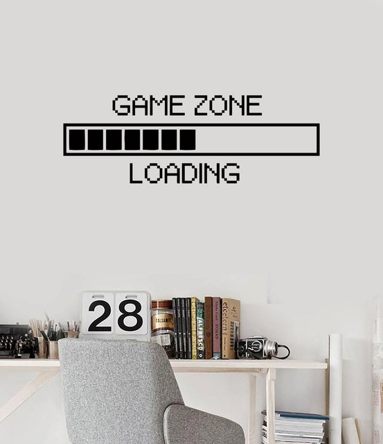 Free shipping Vinyl Wall Decal Funny Computers Loading Wall Sticker  RoomMates Home Decor Wall Art Murals. Aliexpress com   Buy Free shipping Vinyl Wall Decal Funny
