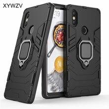 Armor Case Xiaomi Mi 8 SE Cover Metal Finger Ring Holder For Magnetic Phone Fundas
