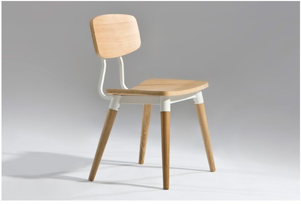 free shipping ash wood dining chair ch177 natural side chair walnut ash