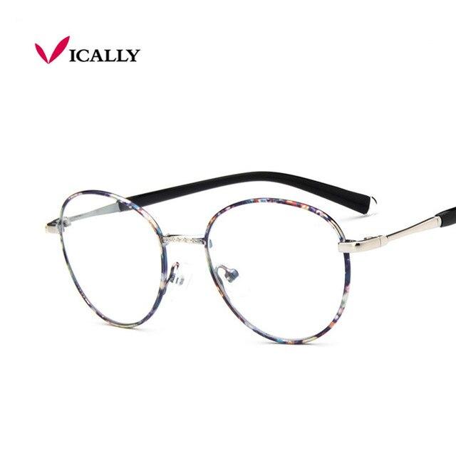 1dc281c7a Óculos de Armação Retro Marca Computador Óculos de Aro Completo Óculos De  Armação De Metal Do