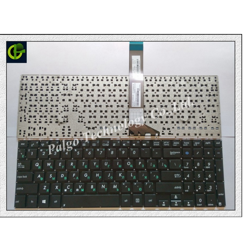 Russian Keyboard for Asus  K551 K551L K551LA K551LB K551LN RU black-in Replacement Keyboards from Computer & Office on