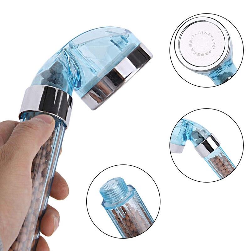 Handheld Water Saving Bath Shower Nozzle Sprinkler Sprayer Filter Shower Head Household
