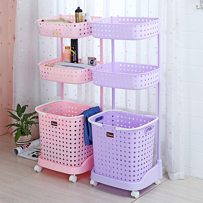 Pink Plastic Laundry Basket Classy Japanese Style Plastic Laundry Basket Of Dirty Clothes Storage