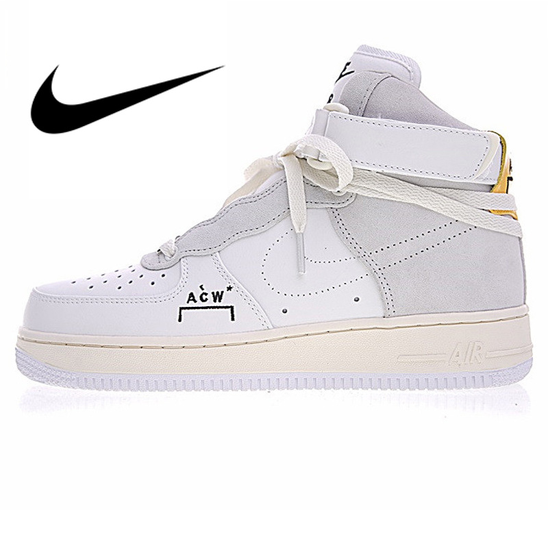 Nike Air Force 1 Sneakers Nike Air Force 1 A Cold Wall AF1 ACW Joint Men's Skateboarding Shoes  Outdoor Sneakers Athletic Designer Footwear 2019 New