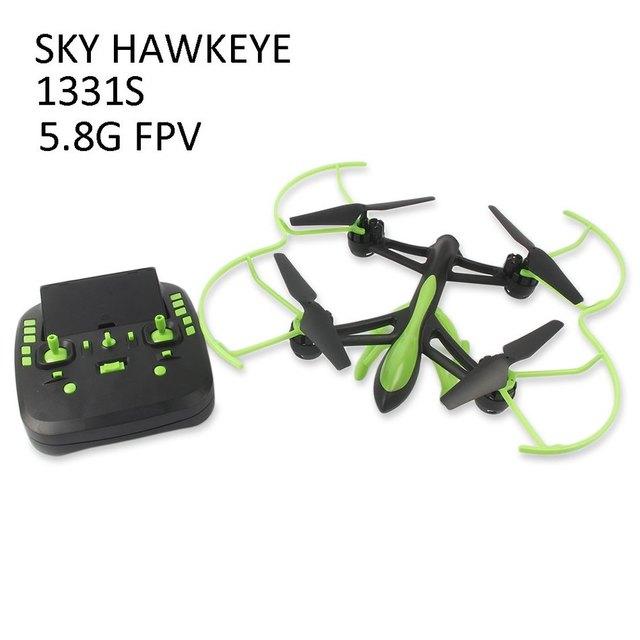 HOT RC Drone Com Câmera de 2MP altura segurando 5.8 GHz FPV 4CH 6 Axis Gyro RC Multicopter Dron Helicóptero de Controle Remoto Brinquedos