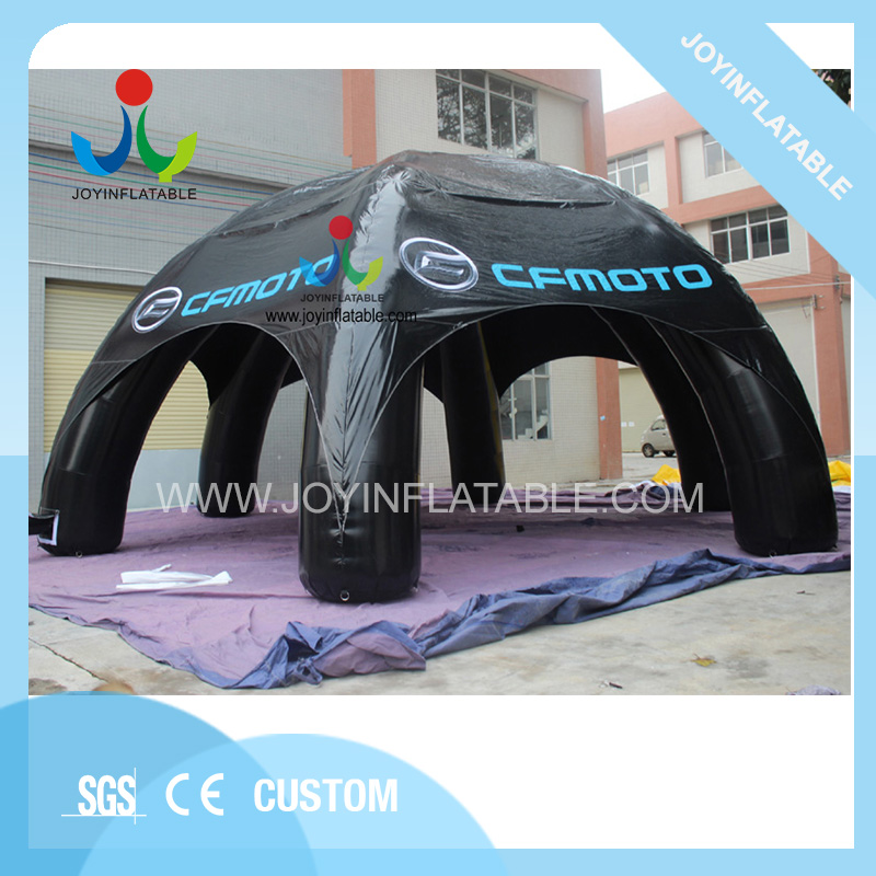 Outdoor Black Spider Inflatable Camping Tent with 6 Legs for Sale