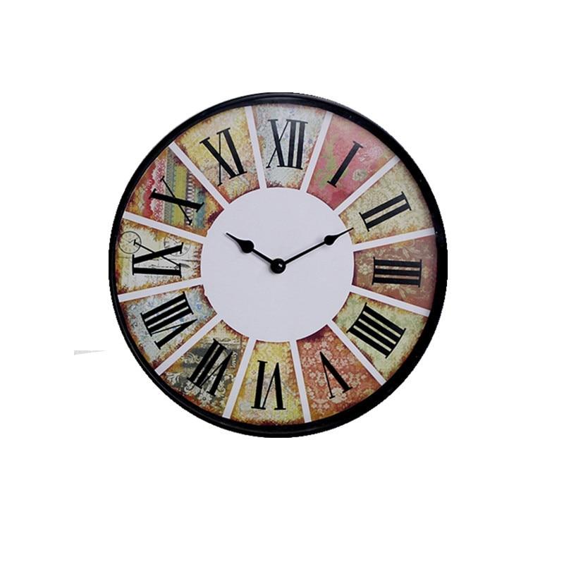 Home Decor Silent Wall Clock Modern Design Quartz Wall ...