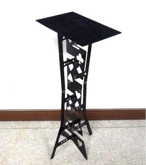 Free shipping Top quality Folding Magic Tables (Black),magic Accessories,stage magic props,close up,Illusion singular bulbs magic props white silver black