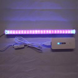 30 см 24 светодиодный бактерицидный ультрафиолетовый светильник, УФ-лампа для стерилизации, дезинфекции, для ванной, кухни, туалета, лампа steri