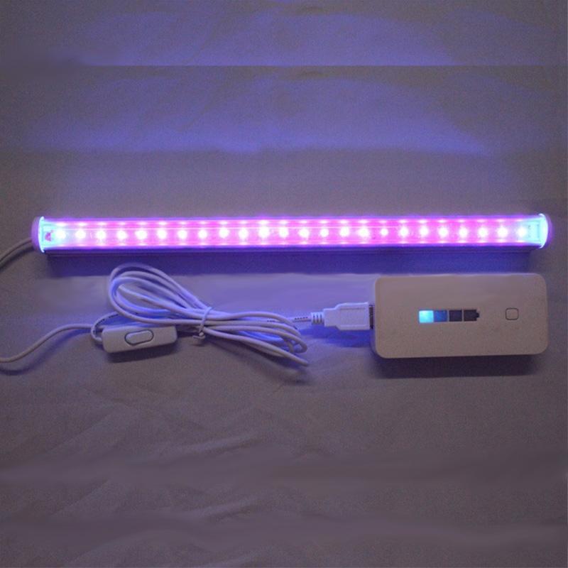 30cm 24 LED Germicidal Ultraviolet Lamp UV Light Bar For Sterilization Disinfection Bathroom Kitchen Toilet Lamp Steri Lamp
