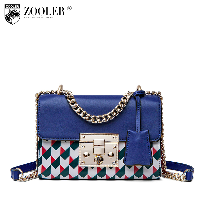 ZOOLER genuine leather bags for women 2018 bags women shoulder bags cross body messenger bag bolsos mujer bolsa feminina#S123 cd michael jackson thriller 25