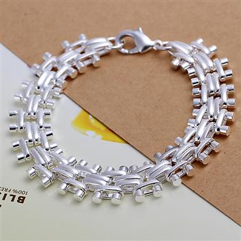 WholesaleH 925 Silver bracelet 2015 Fashion Jewelry bracelets for women GrapeH0199