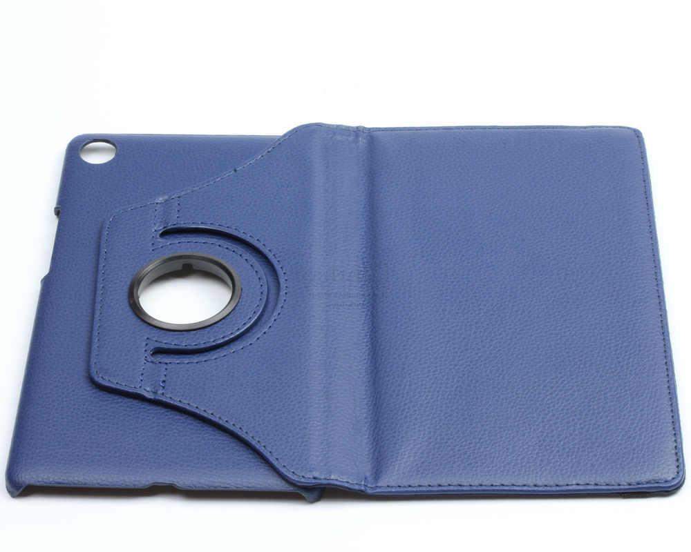 חדש 360 תואר סיבוב עור מפוצל Flip כיסוי עבור Huawei MediaPad M5 8.4 מקרה SHT-W09 8.4 inch Tablet סטנד מתקפל Folio מקרי