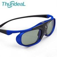 Thundeal 2PC SG1000 Battery Universal DLP Active Shutter 3D Glasses 96 144Hz For Optoma BenQ Acer