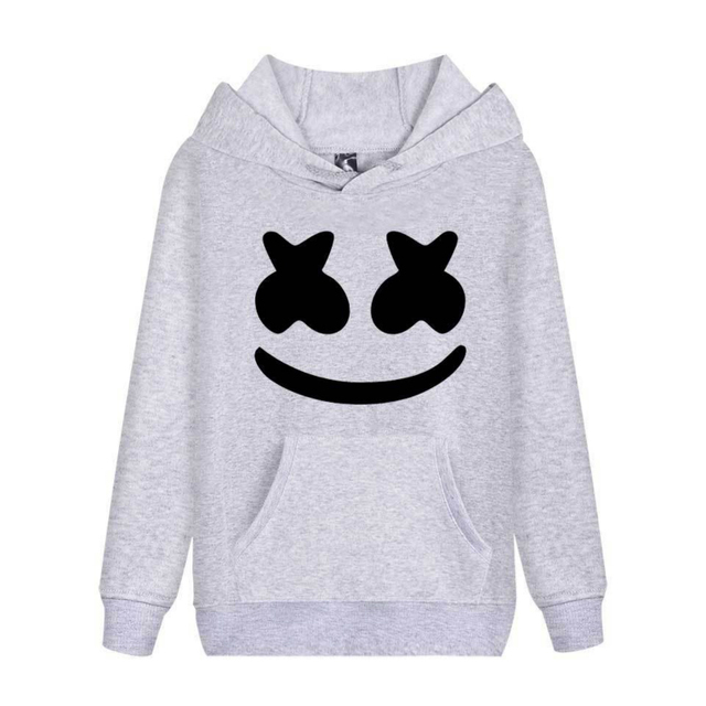Cap&Mask as Gifts Marshmallow hoodies sweatshirts men women hip hop Rapper Bboy dancer DJ pullover hooded jacket coat tracksuits