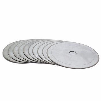 10Pcs 100 mm Ultra Thin Lapidary Diamond Saw Blade Cutting Disc 5/8