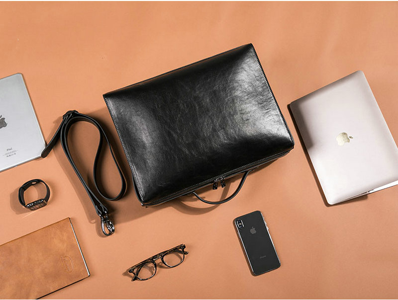 HTB11O2MSH2pK1RjSZFsq6yNlXXac YINUO PU Leather Handbag High Capacity Shoulder Bag For 14inch Laptop Bag Briefcase Waterproof Detachable Summer Bag