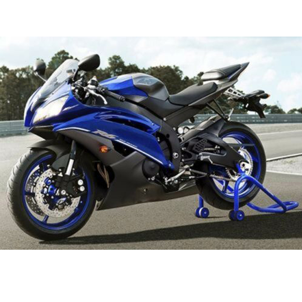 YZFR6 Blue w/ Matte Black Fairing Injection ABS plastic for 2008 2016 Yamaha R6 R600 YZF R6 YZF R6 2009 2010 2011 2012 13 14 15