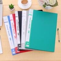 Premiun PP Malzeme Siyah Mavi Kırmızı Yeşil Gri 30 40 60 sayfa B4 Dosya Klasör Belge Dosyalama Çanta Okul Ofis Malzemeleri Kırtasiye