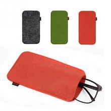 Eyeglass Pouch Glasses Case Protector Scratch-proof Portable Soft Pencil Bag Sunglasses