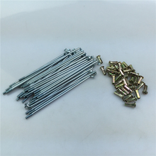 STARPAD For Motorcycle Accessories Steel Wire Rope Wheels Wire 13.2cm Motorcycle Spoke Diameter 3mm Free Shipping
