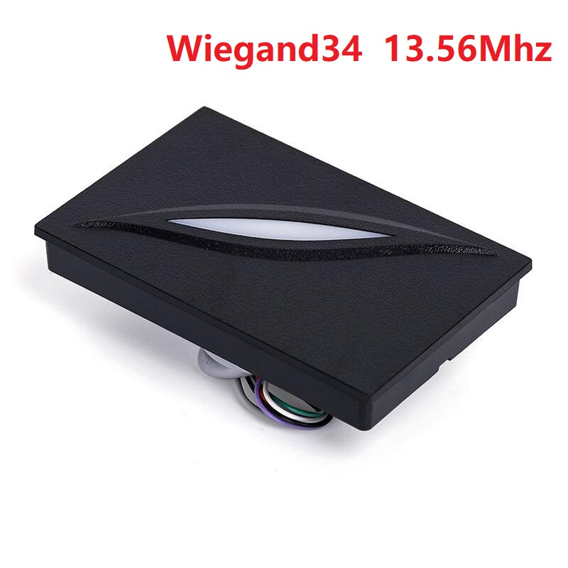 Waterproof IP65 wiegand26 access control system KR100 RFID 125KHZ weigand EM ID card reader wiegand 26 input