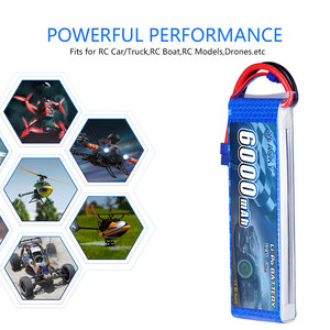 Image 5 - SEASKY 2S lipo batterie 7,4 v 6000mAh 60C RC batterie lipo 7,4 V Batterie XT60 für FPV drone auto