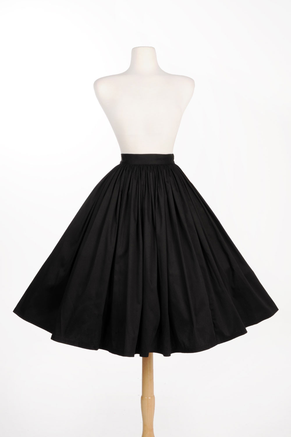 40 women vintage 50s jenny skirt in red high waist rockabilly pinup ... 65eb7c522a86