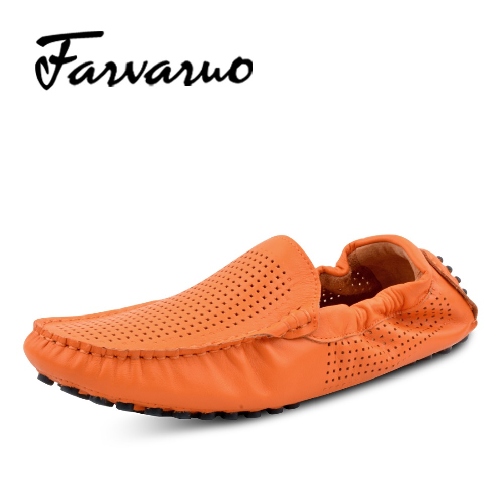 Mens Sommer Full Grain Leather Driving Soft Shoes Brand New Men 2017 Loafers Casual Mesh Breathable Stylish Moccasins Shoe Flats 2016 trend crocodile grain mens loafers genuine leather comfortable rubber soft bottom casual driving men shoe basic flats z616