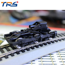 1pc Train ho 1:87 Model Accessories Scale Electric Train Accessories Chassis Bogies Model Building Kits 20pcs ho proportional train model wheels 1 87 scale train accessories material metal and plastic