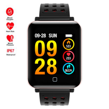 Sports activities Waterproof Swim Sensible Watch Coronary heart Fee/Blood Strain Monitor Smartwatch For Apple/Moto/Huawei PK Fenix 5/S6 Mi band 3