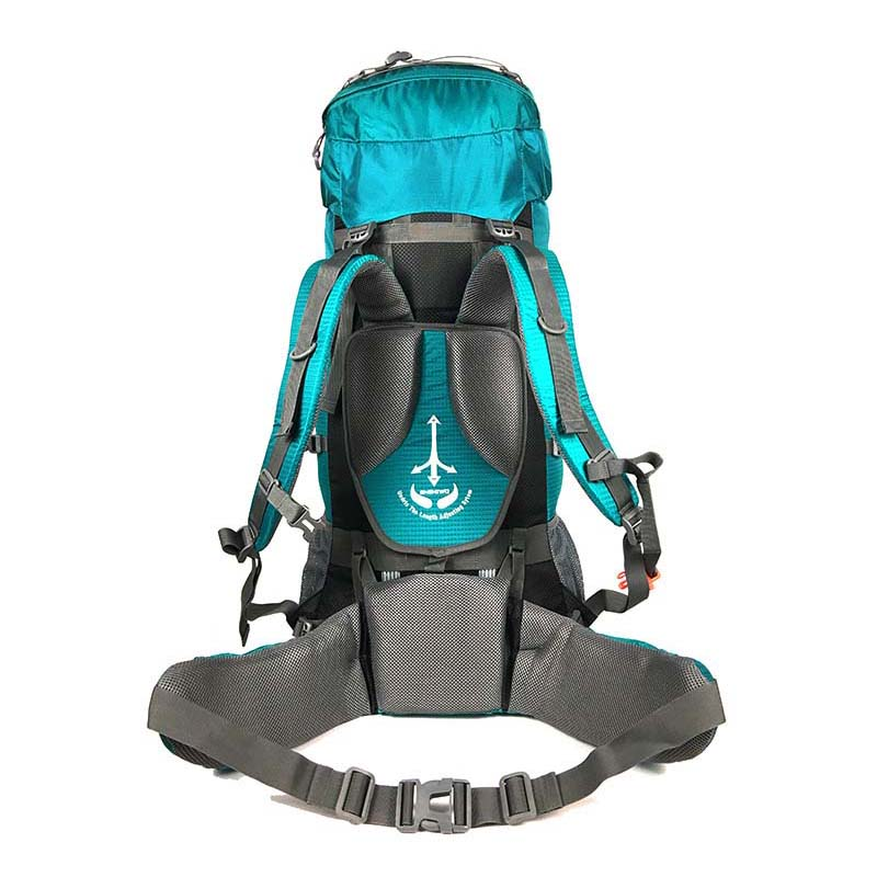 Mochila 80L para escalar al aire libre mochila táctica camping senderismo mochilas bolsa de nailon Marco de aleación de aluminio mochila de viaje - 4