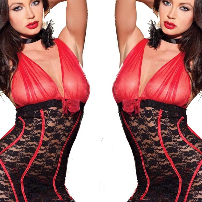 NDFSOUL-Y08 Women Transparent Catsuit Lingerie Sexy Hot Erotic Body Suit Hollow Out Sexy Underwear Erotic Lingerie Porno Costume
