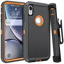3 in 1 Armor Series Shock Proof Aqua Case for iPhone X XS MAX XR Defender Belt Clip Case for iPhone 11 Pro Max 6 6s 7 8 plus(China)