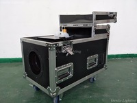 DMX 3000W Big Fog Machine Only Create Dry Ice Effect Stage Ground Low Water