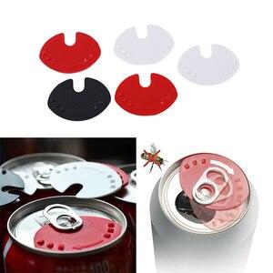 Image 1 - 5 個クリエイティブピースソーダ変換することができトップススナップ寒い飲料漏れ防止することができことができ蓋ダスト送料シーラー