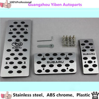 Subaru Forester Impreza Outback Legacy Car Common Styling Cover Alloy Aluminium Covers Foot Gas Brake Rest